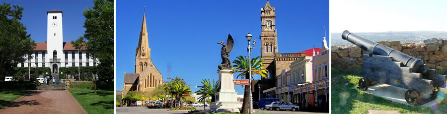 Grahamstown Accommodation and Tourist Guide